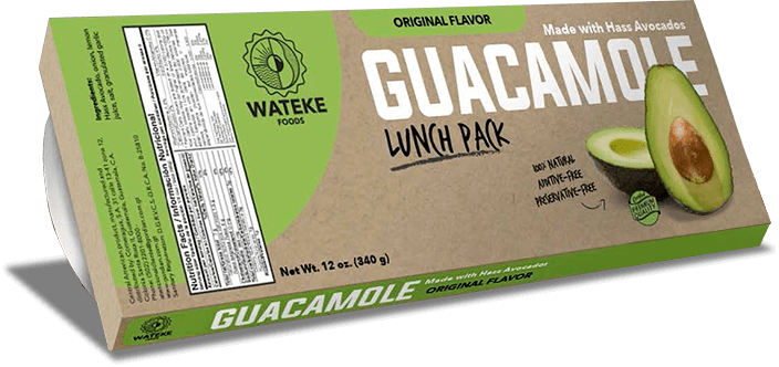Guacamole lunch pack